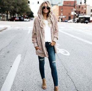 🆕️ ⬇️💲Long Sleeved Hooded Coat